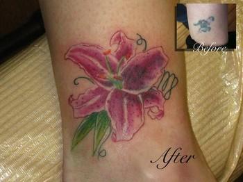 Redesign Tattoos Flower Tattoos Stargazer Lily