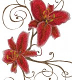 Stargazer Lily Tattoo Ideas