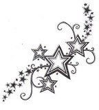 Sketches Star Tattoo For Girls
