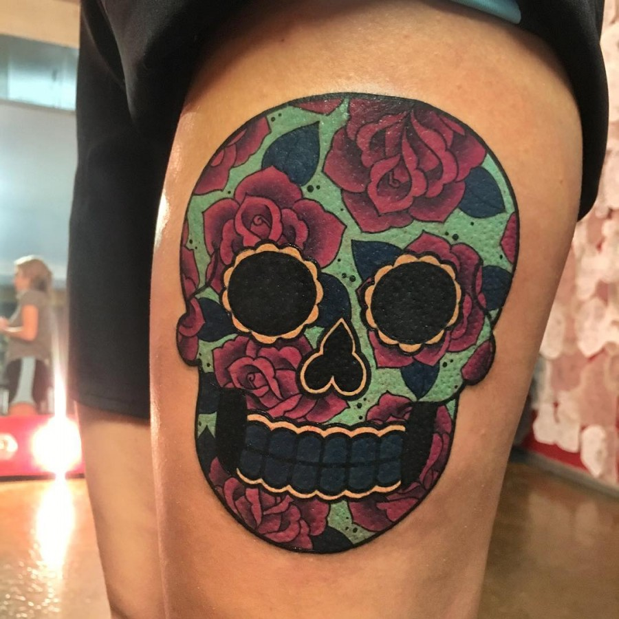 sugar-skull-tattoo-by-megan_massacre