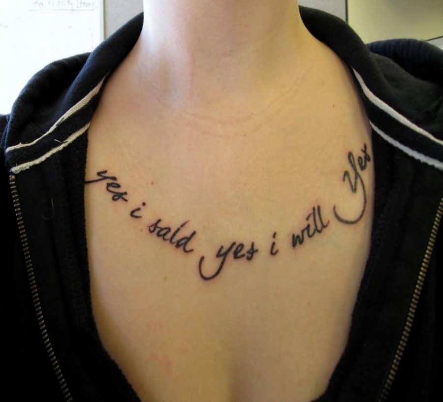 Chinese Lettering Tattoo Design On Neck