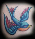 Gorgeous Swallow Tattoo Design Ideas