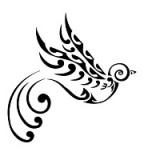 Fabulous Maori Swallow Flash Tattoo Ideas