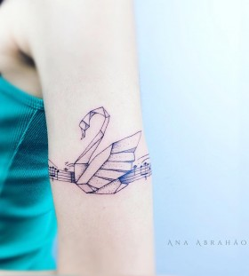 swan-tattoo-by-abrahaoana