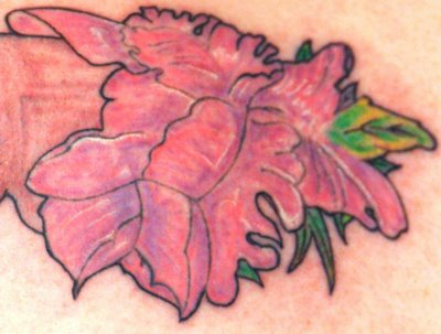 Sweet Pea Flower Tattoo Meaning