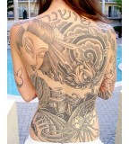 Cool Back Shoulder Tattoos For Women