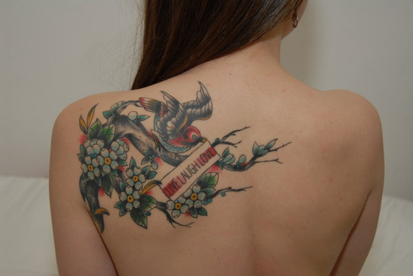 Beautiful Love Chinese Symbol Tattoos for Girls