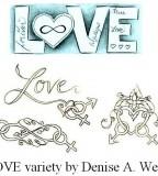 Love Tattoo Variety