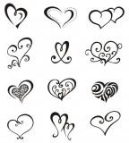 Love Symbol Tattoo Sketch