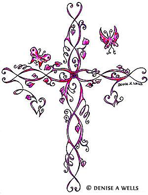Beautiful Cross Tattoo Design Ideas