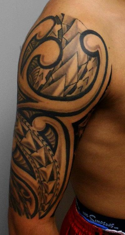 Dashing Arm Tattoo For Men