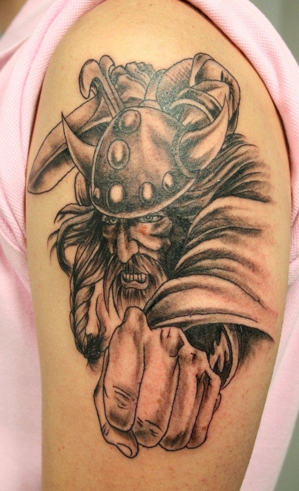 Dashing Viking Tattoos For Men