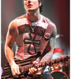 Tattooed Synyster Gates Playing Guitar