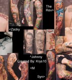 Avenged Sevenfolds Personnel Tattoos Style