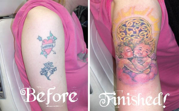 Clever Cover Up Tattoos