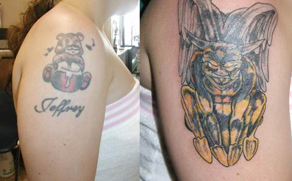 Clever Devils Cover Up Tattoos After The Break Up Ink Art Tattoo