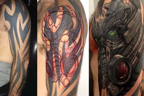 Bots Predator Cover Up Tattoos