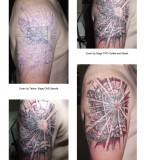 Exotic Flesh Cover up Tattoos