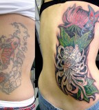 Yakuza Style Tattoo Designs For Girl