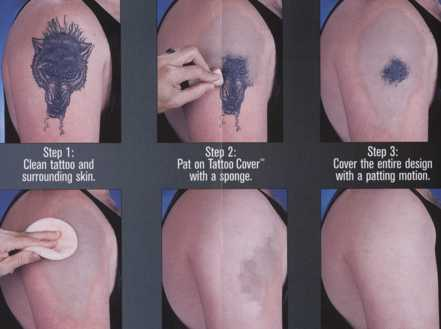 Tattoo Covers Covering Theatrical Makeup For Stage TV