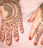 Stylish Henna and Mehndi Tattoo Design for Girls