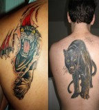 Panther Tattoo Designs For Men