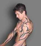 Tribal Tattoo For Power Effect Image - Tattoo For Men