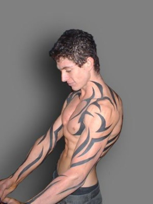 Tribal Tattoo For Power Effect Image – Tattoo For Men