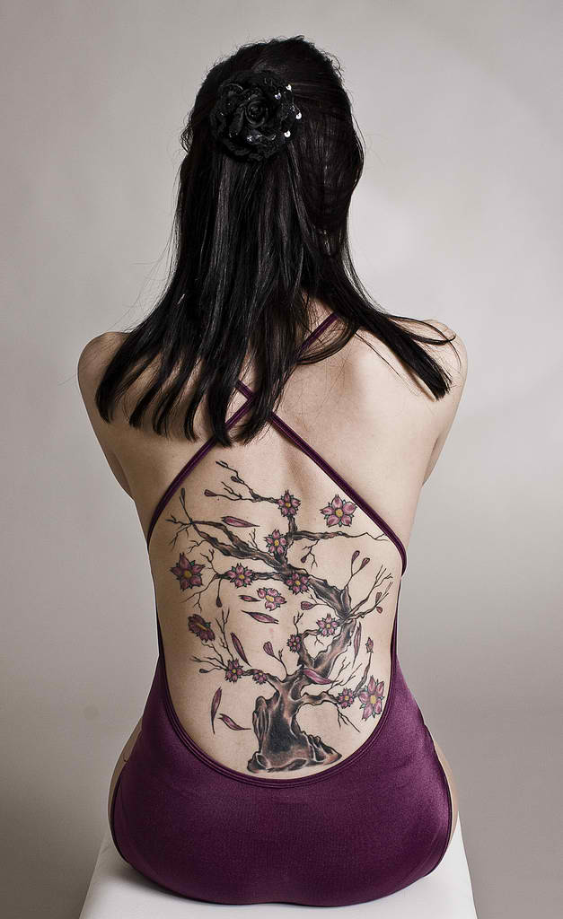 Cool Tree Tattoo Designs For Women