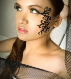 Tribal Tattoo Face Designs For Women