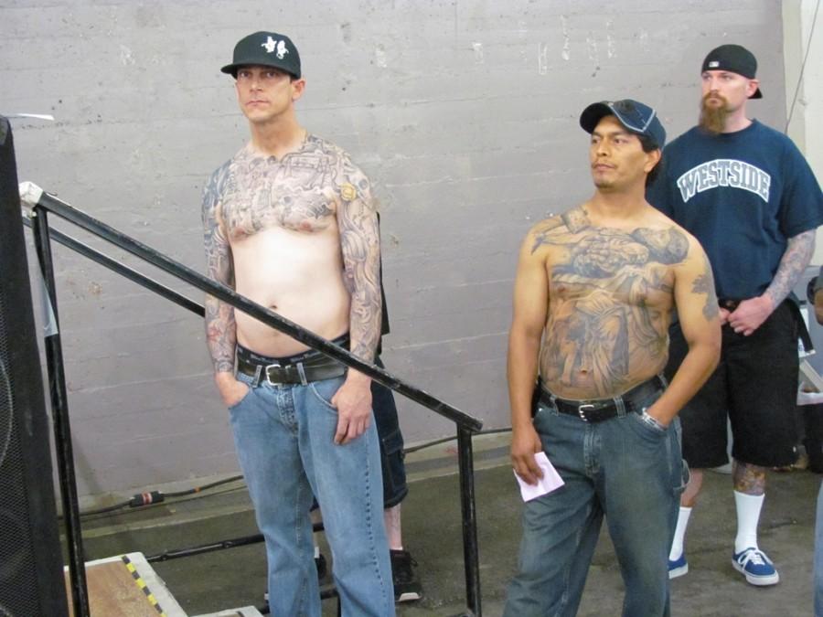Participant of Tattoo Design At The Tattoo Body Art Expo Asylum