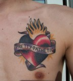 Heart Tattoo Games for Men