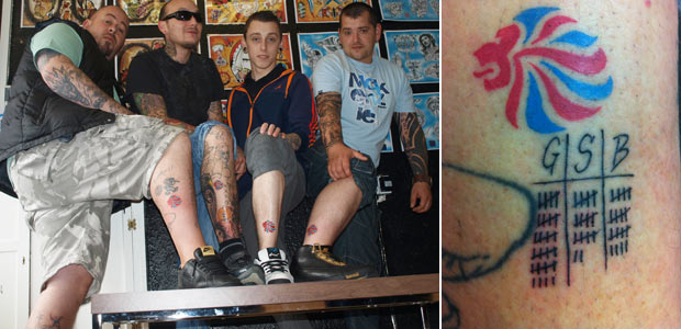 North Wales Mens Olympic Tattoo Game Shows Team