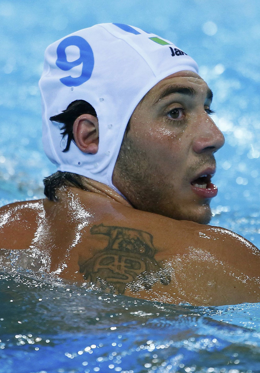 Olympic Ink AS Roma Tattoos On The Worlds Best Athletes