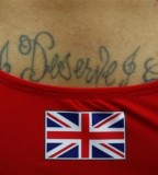 Olympic England Tattoos Games for Men
