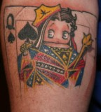 Joker Card Games Online Tattoo Designs for Men