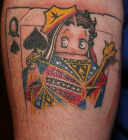 Joker Card Games Online Tattoo Designs for Men