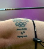 Cool Olympic Games Tattoo for Men