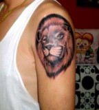 Arm Lion Tattoo Designs Ideas For Men