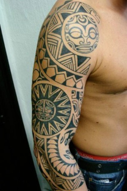 Men Popular Arm Tattoo Designs
