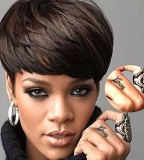 Love Rihannas Ring Finger Tattoo Design Pic