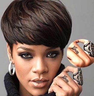 Love Rihannas Ring Finger Tattoo Design Pic