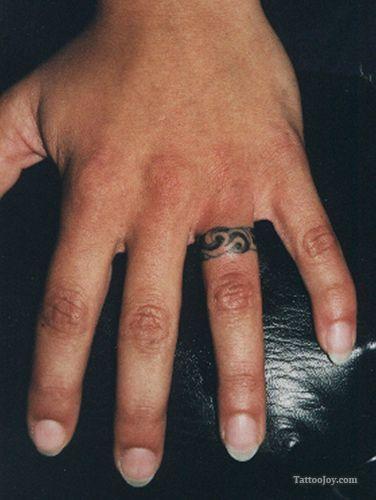 1617807ae Ring Finger Men Tattoo Design Picture - | TattooMagz › Tattoo ...