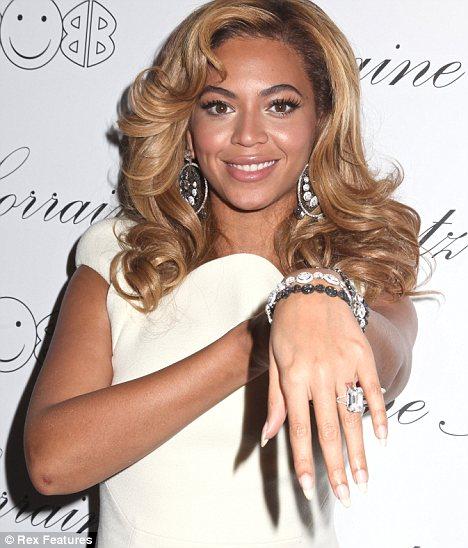 Beyonce Sweet Tattoo Design on Ring Finger