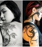 Another Prominent Shoulder Blade Tattoos