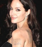 Body Art Celebrity Letter Tattoos