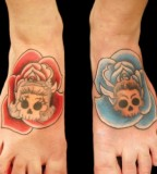 Beautiful Old School Tattoo Designs Around The World