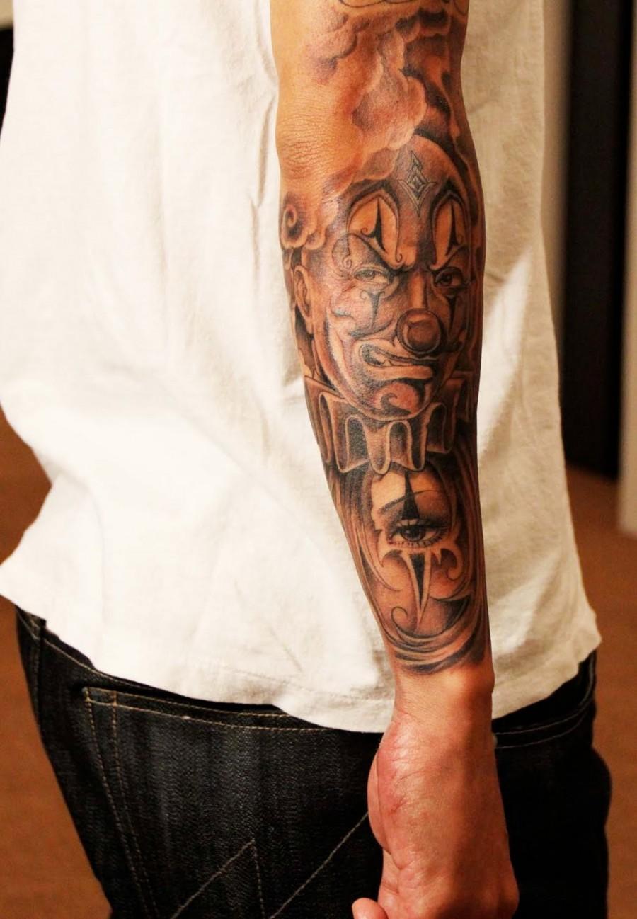 Amazing Tatto Design for Men's Arm