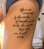Marvelous Tattoo Quotes For Girls
