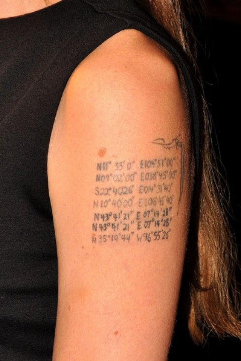 Text Quotes Tattoos Art Design For Girls